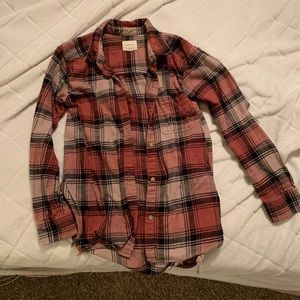 Oversized Fit Flannel